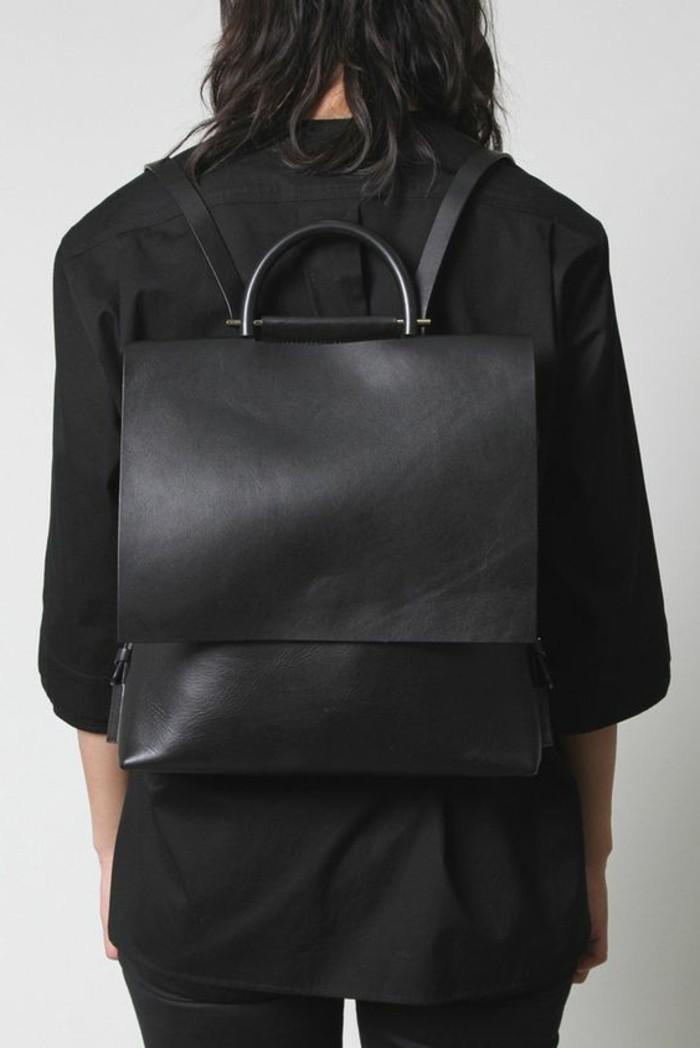 1-sac-a-dos-en-cuir-noir-femme-chemise-noire-design-femme-sac-à-dos-pas-cher