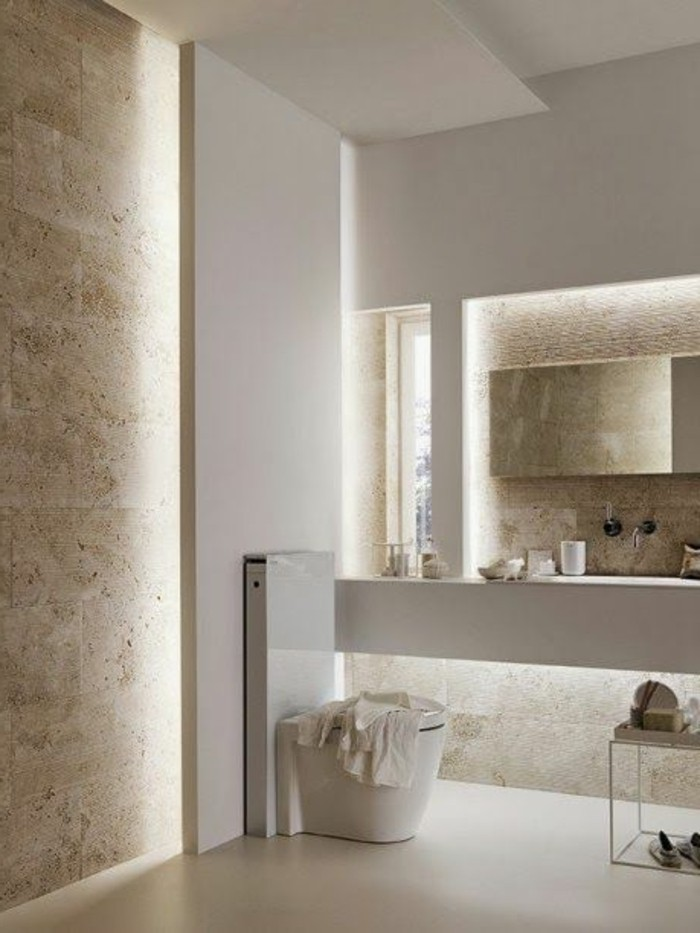 Quelle couleur salle de bain choisir 52 astuces en photos - Deco murale salle de bain ...