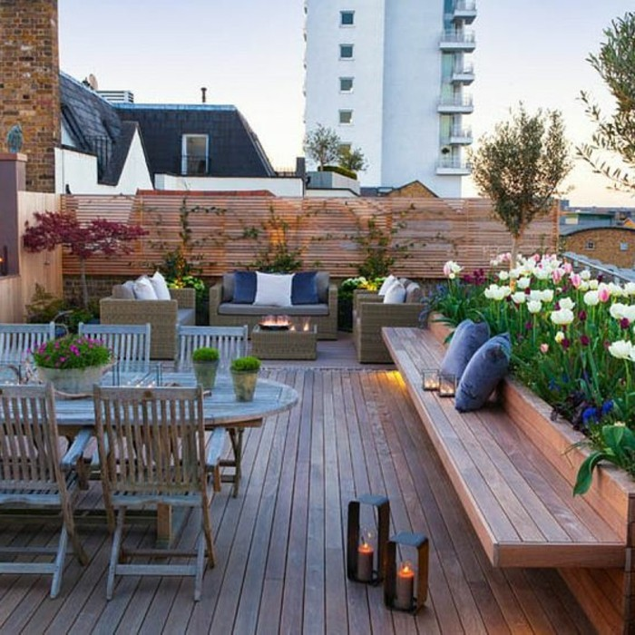 Comment amenager une terrasse exterieure maison design for Idee terrasse design