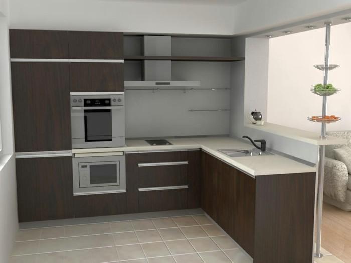 trendy with cuisine deux couleurs. Black Bedroom Furniture Sets. Home Design Ideas