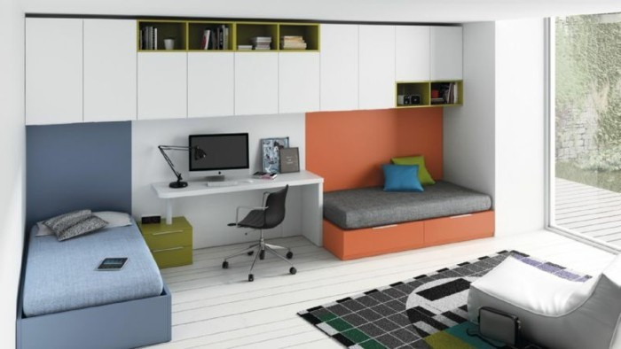 Comment am nager une chambre d 39 ado gar on 55 astuces en for Idee amenagement chambre enfant