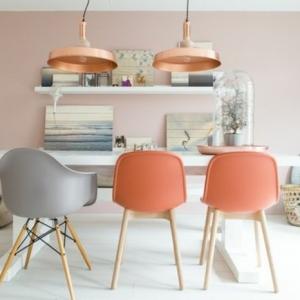 La couleur saumon – les tendances chez les couleurs d'intérieur en photos!
