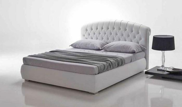 Modele De Chambre A Coucher Design : … -bobois-tete-de-lit-capitonnée-simili-cuir-beige-tete-de-lit-en-cuir