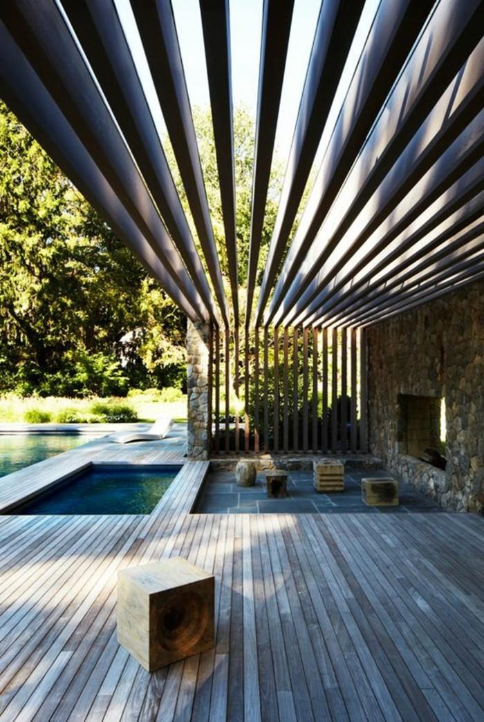 Am nager une terrasse plus de 50 id e pour vous - Idee amenagement terrasse bois ...