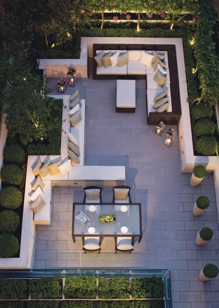 am nager une terrasse plus de 50 id e pour vous. Black Bedroom Furniture Sets. Home Design Ideas