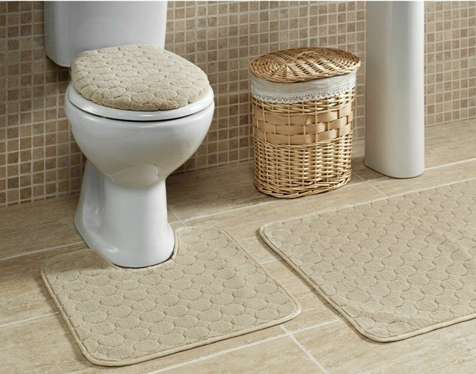 Salle de bain taupe et lin salle de bain gris taupe for Carrelage salle de bain couleur taupe