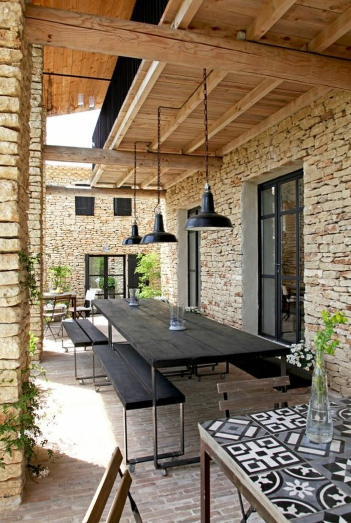 amnager sa terrasse pas cher best ideas about amenagement terrasse pas cher on pinterest. Black Bedroom Furniture Sets. Home Design Ideas