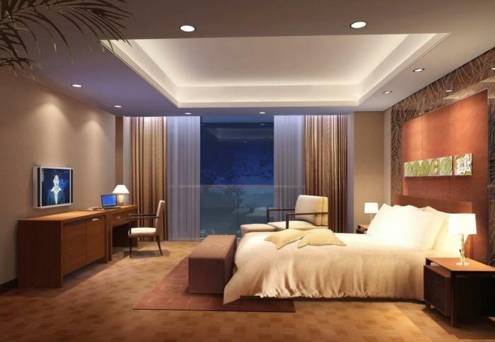 maison styl e contemporaine l 39 aide de plafond moderne. Black Bedroom Furniture Sets. Home Design Ideas