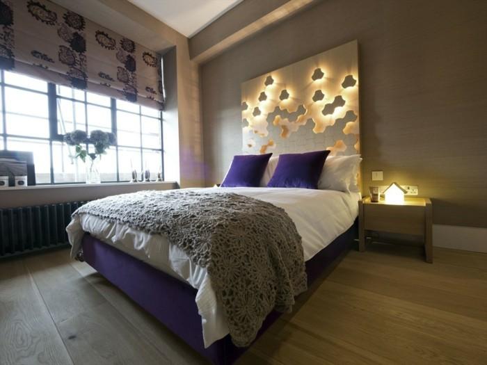 aménagement-chamber-à-coucher-tete-de-lit-idée-décoration