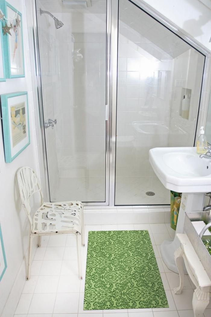 Photos Idées Petite Salle De Bain En Bois Avec Balnéo : L aménagement petite salle de bains n est plus un