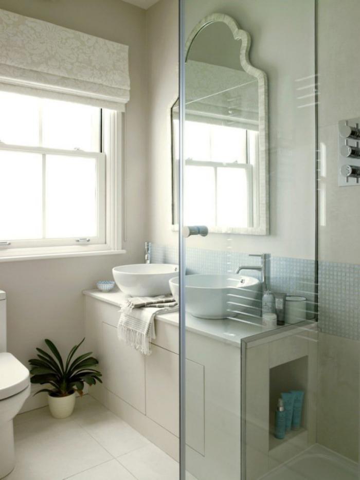 aménagement-petite-salle-de-bains-deux-vasques-rondes