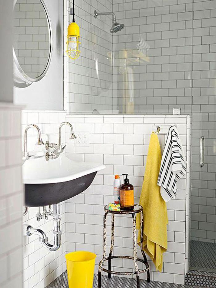 aménagement-petite-salle-de-bains-idée-salle-de-bain-originale