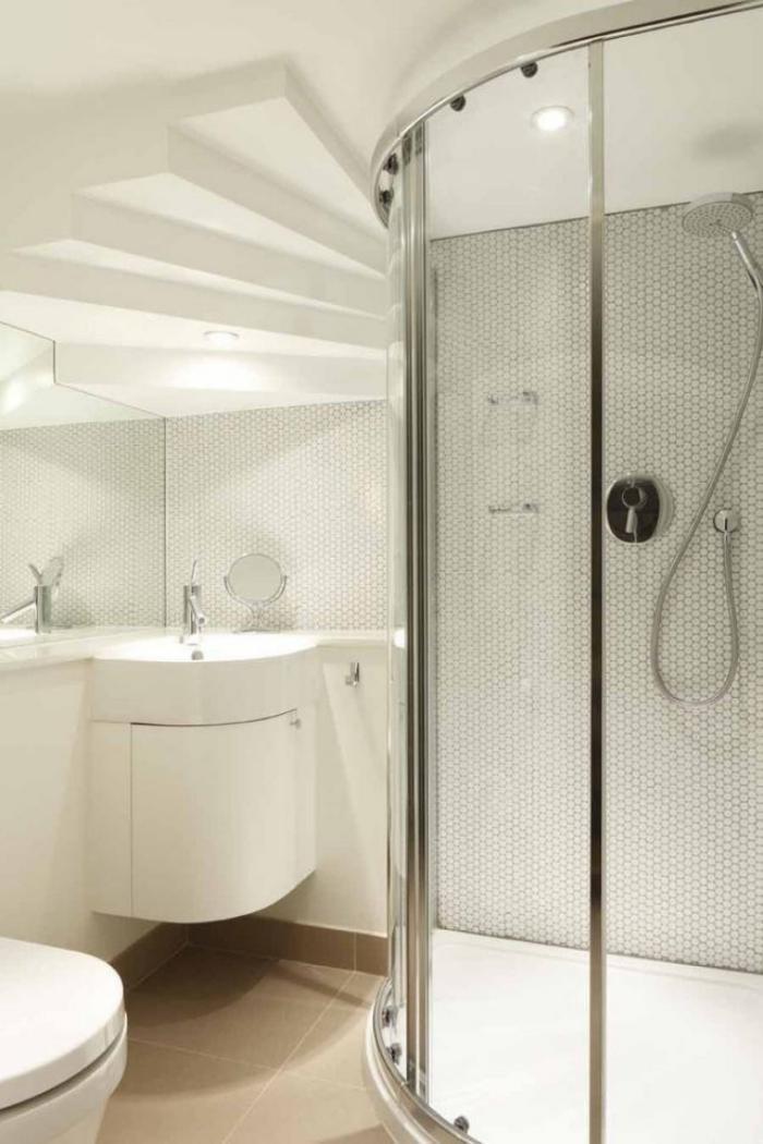 L 39 am nagement petite salle de bains n 39 est plus un for Equipement salle de bain douche