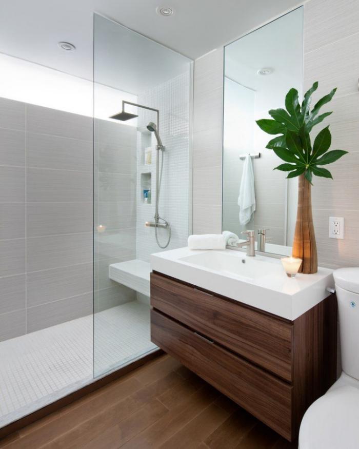 aménagement-petite-salle-de-bains-paroi-de-douche-verre