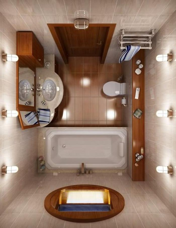L 39 am nagement petite salle de bains n 39 est plus un - Meuble salle de bain ampm ...