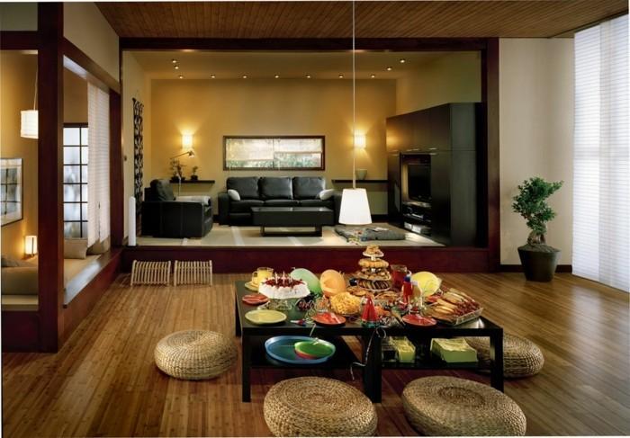 ambiance-zen-chambre-style-zen-admirable-moderne-salle-de-sejour