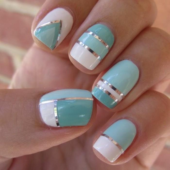 astuces-beauté-ongles-dessin-cool-idée-prientemps-en-bleu