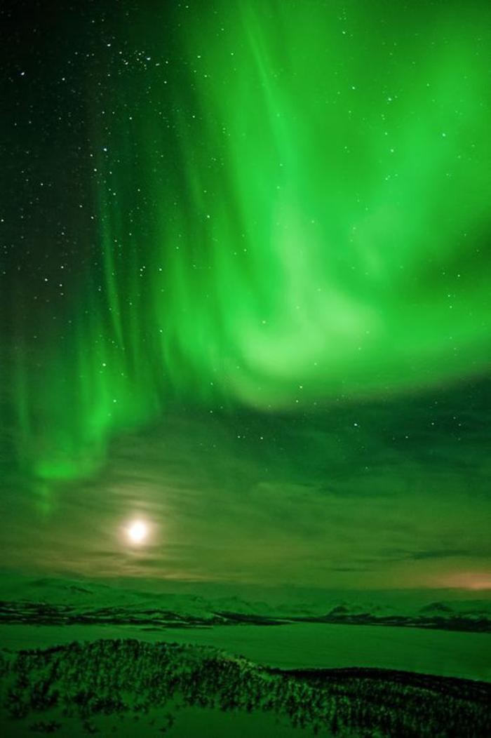 aurores-boréales-ciel-en-couleur-néon