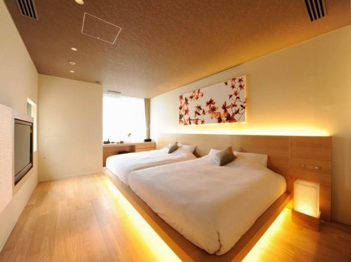 beau-intérieur-idée-chambre-à-coucher-tete-de-lit-lumineuse