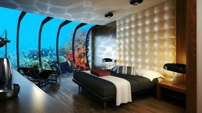 beau-interieur-chambre-à-coucher-tete-de-lit-lumineuse