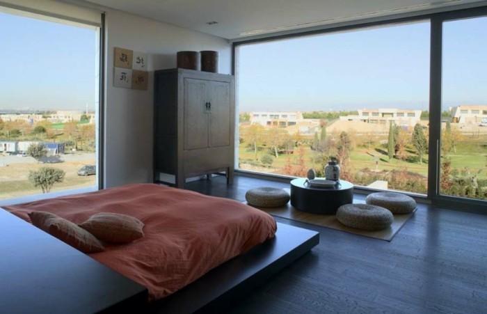 belle-chambre-style-zen-admirable-deco-zen-intérieur