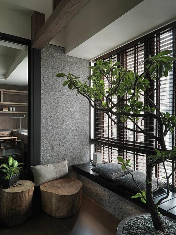 belle-chambre-style-zen-deco-zen-intérieur-plantes-vertes