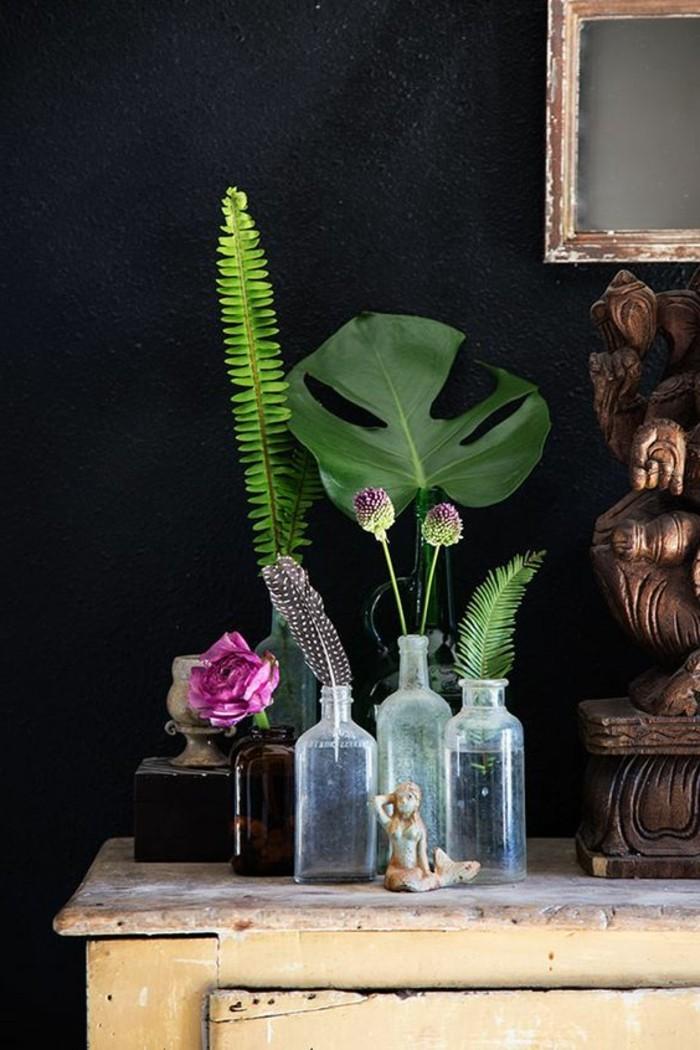 belle-composition-florale-simple-à-faire-table