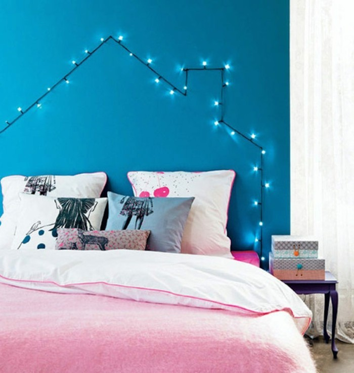 belle-conforama-tete-de-lit-idée-décoration-superbe-chambre-ado