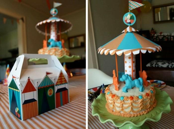 belle-idée-gâteau-anniversaire-enfant-cirque