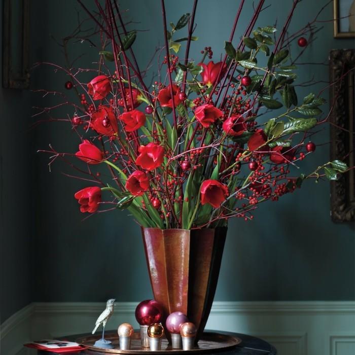 bouquet-table-mariage-centre-de-table-orchidée-saison-automne