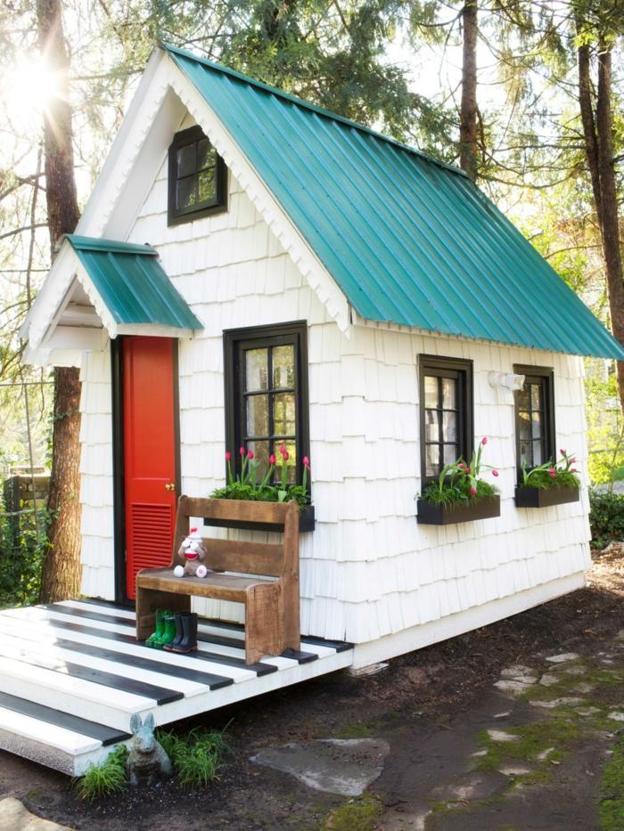 La maisonnette en bois qui aide vos enfants jouer plus - Cabane jardin bois enfant ...