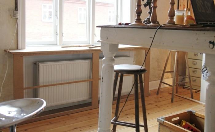 Comment habiller un radiateur 69 photos avec exemples - Cache radiateur leroy merlin ...