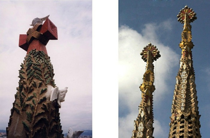 cathedrale-barcelone-details-sur-l'-une-des-tours-resized