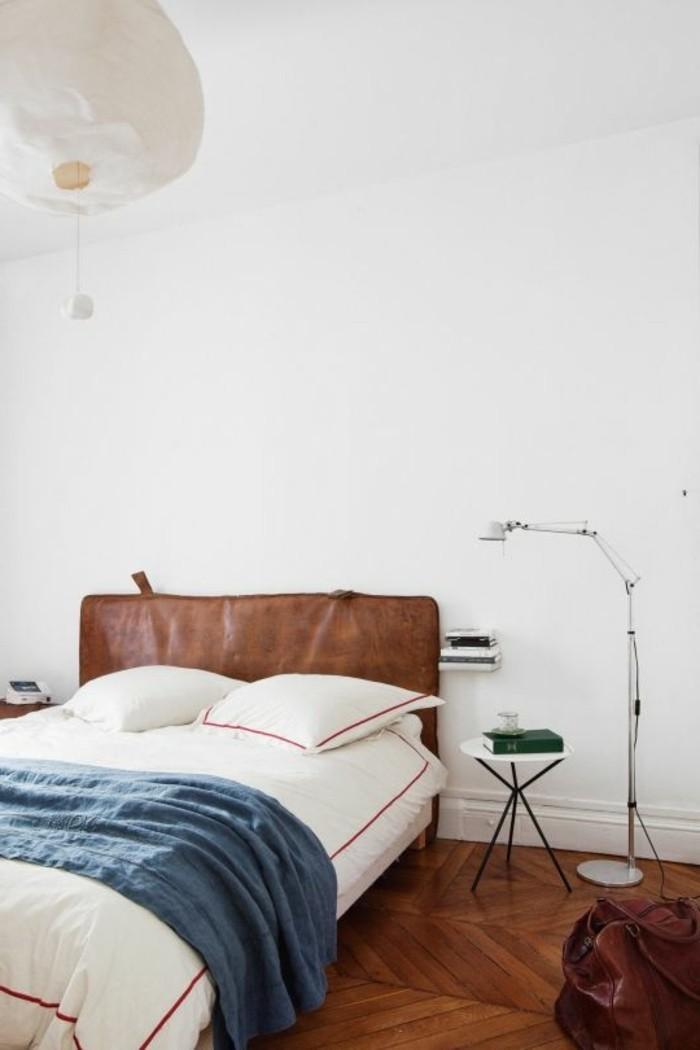 choisissez un lit en cuir pour bien meubler la chambre  u00e0 coucher