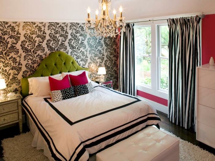 chambre-adulte-originale-amenagee-sur-l'-idee-de-la-dualite-du-noir-et-du-blanc-accents-rouges-resized