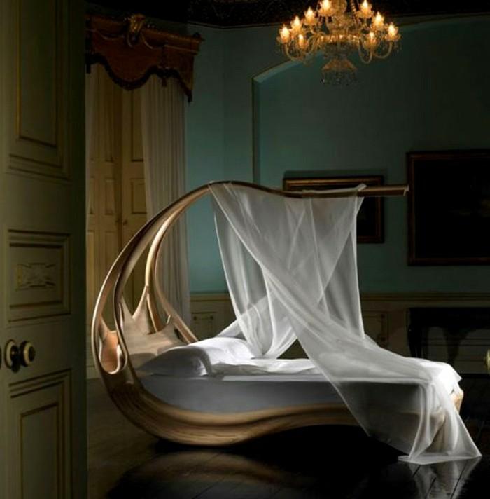 chambre mauve et noir chambre adulte originale avec un lit de design futuriste dans un decor - Chambre Mauve Et Noir