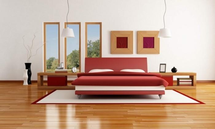 chambre-adulte-originale-rouge-au-parquet-synthetique-resized