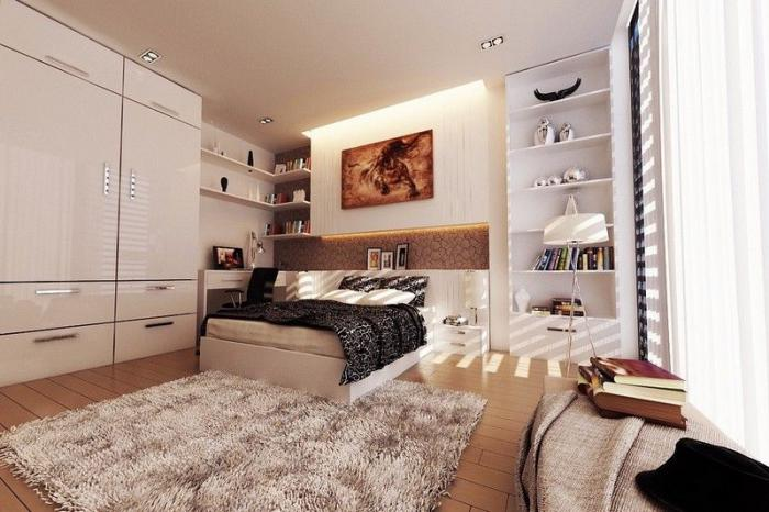 chambre-parentale-chambre-à-coucher-glamour