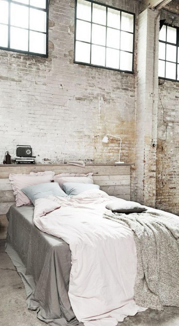 chambre-parentale-décoration-chambre-parentale-esprit-loft-industriel