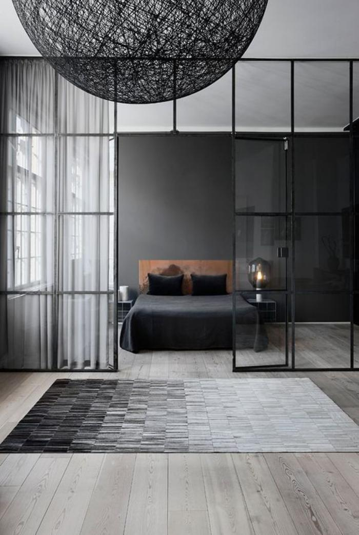 am nager la chambre parentale avec nos 56 propositions. Black Bedroom Furniture Sets. Home Design Ideas