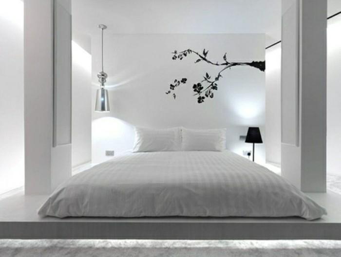 Id e chambre zen et des conseils pour l 39 am nager - Chambre gris et noir ...