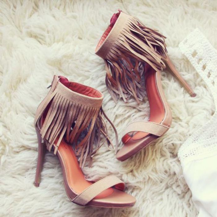 chaussures-à-franges-sandales-à-mince-talon