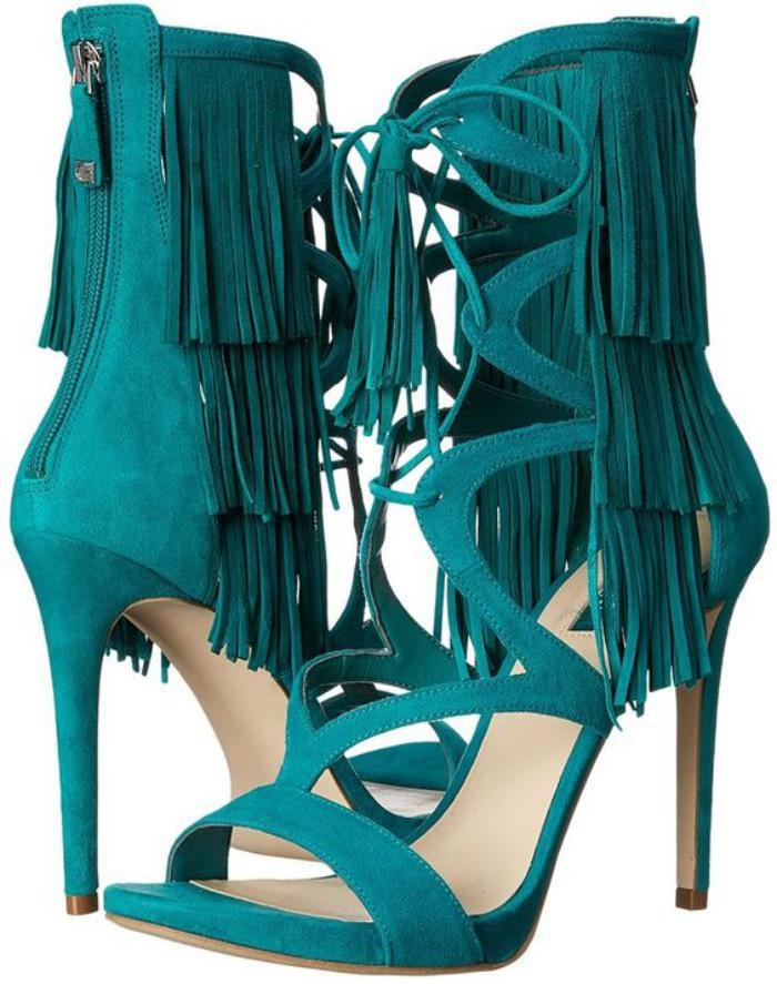 chaussures-à-franges-sandales-à-talons-frangées