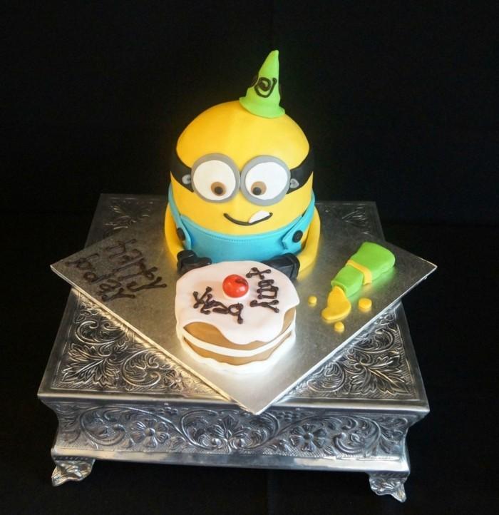 chouette-gâteau-d-anniversaire-pour-enfants-minions-gâteau-d-anniversaire-enfant