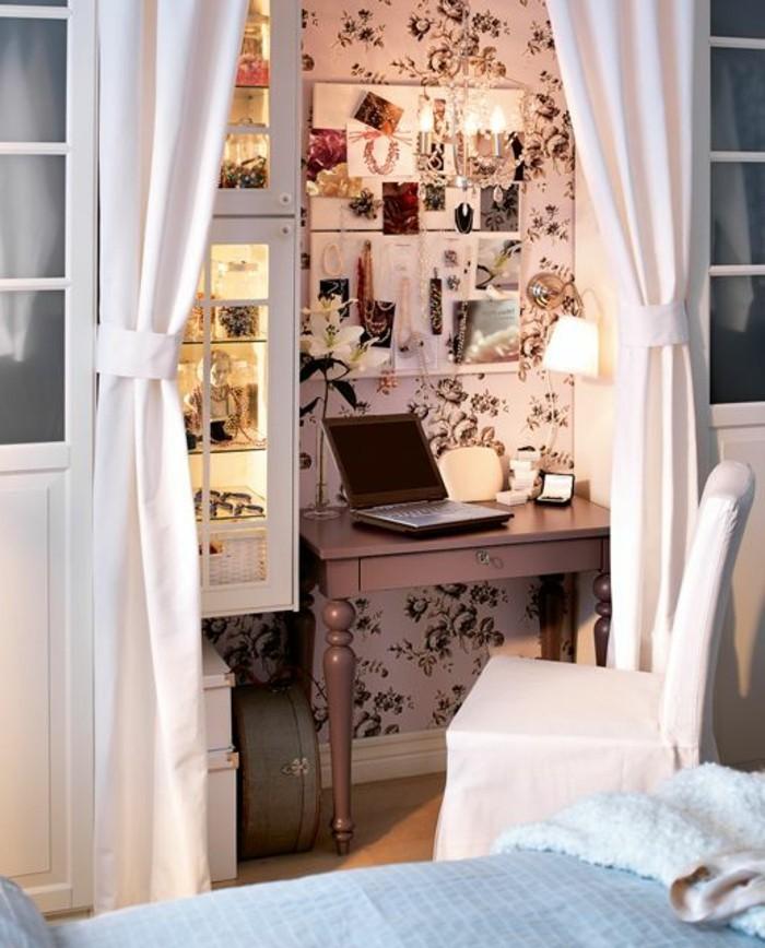 cloison-amovible-leroy-merlin-rideau-studio-etudiant-separer-un-coin-bureau-avec-rideau