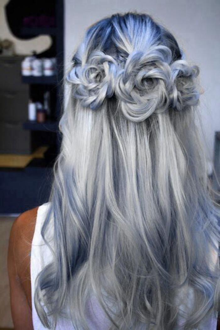 coiffure-originale-avec-tresses-enroulées