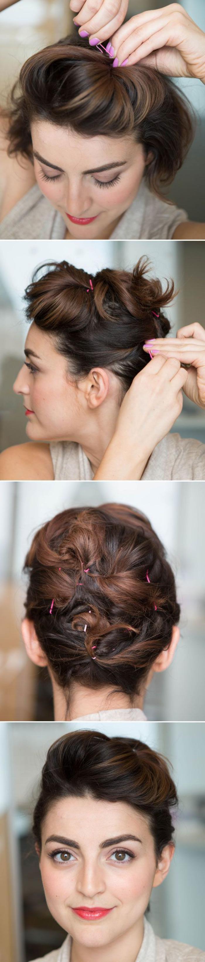 coiffure-originale-coiffure-avec-bobby-pins-roses