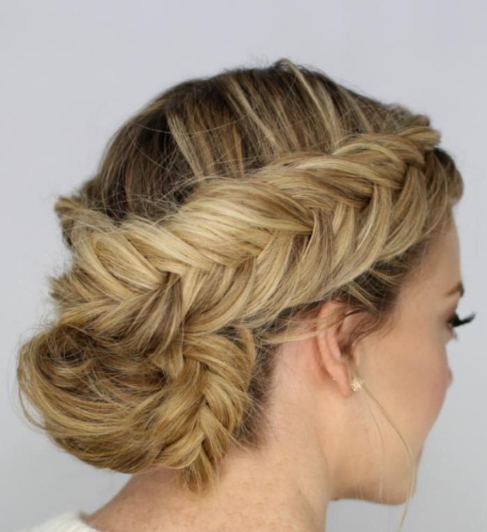 coiffure-originale-coiffure-simple-et-rapide-chignon-en-épi