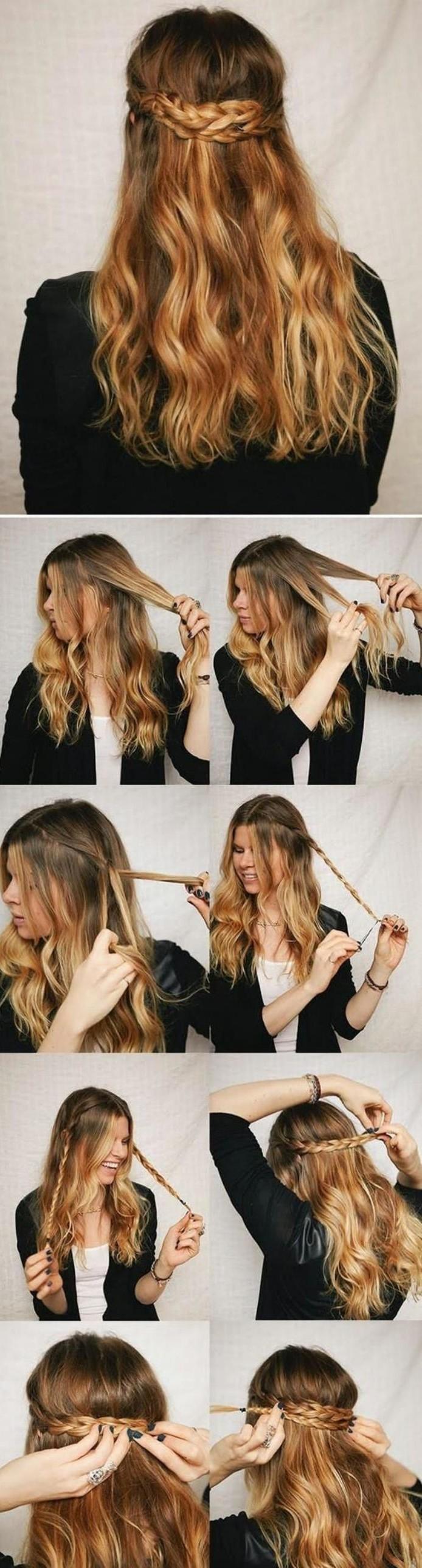 coiffure-originale-couronne-tressée