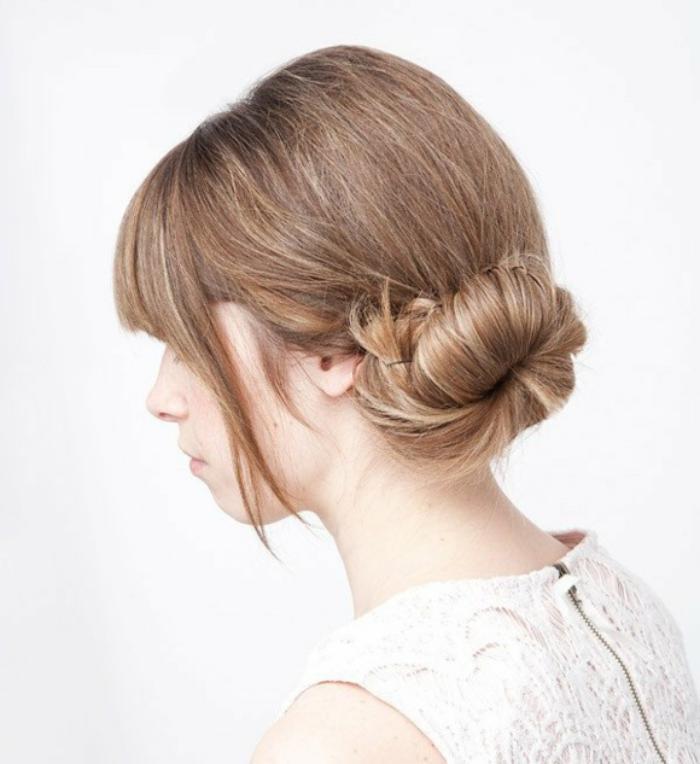 coiffure-originale-idée-coiffure-chignon-rapide